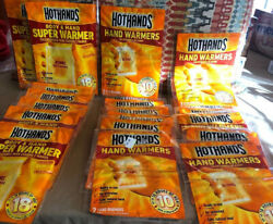 21-HotHands 7-Body & Hand Super Warmer & 14-HAND WARMERS-35 WARMERS IN TOTAL $28.78