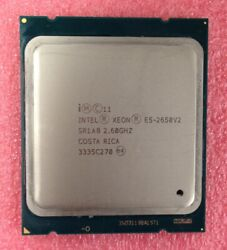 SR1A8 Intel E5-2650 v2 2.6GHz Eight Core (CM8063501375101) Processor