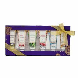 Spa Luxetique Shea Butter Hand Cream Gift Set 6 Travel Size Nourishing Hand