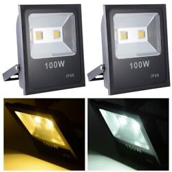 Commercial LED Flood light 50W 100W 150W IP66 Waterproof Security Spotlight Lamp