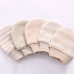 Baby Gloves Anti Scratch Face Hand Guards Protector Soft Newborn Mittens Sleeve $7.69