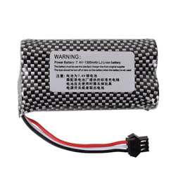 New 1300mAh 7.4V SM 3P Plug 66*38*18mm Battery For RC Drone Electric Car Toys $10.18
