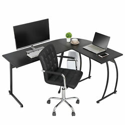 L-Shaped Corner Desk Computer Gaming Desk PC Table Home Office Writting Table $112.99