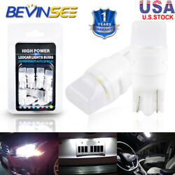10x T10 White LED Interior Exterior Lights Package For Infiniti G35 Coupe 03 07