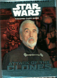 Star Wars Attack Of The Clones CCG Individual Trading Cards GBP 1.36