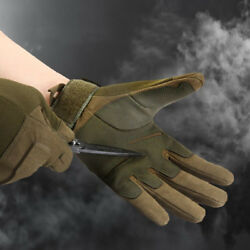 Tactical GlovesTough Outdoor Combat Gloves Full Finger Cycling Riding Gloves US $29.95