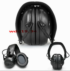 Electronic Bluetooth Headset Hearing Protector Noise Canceling ear muffs Black $44.99