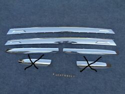 2008 09 10 11 12 13 14 15 2017 Buick Enclave LUGGAGE RACK CHROME COVER TRIM OEM $36.95