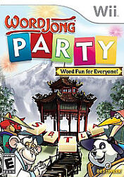 Word Jong Party for Nintendo Wii WII Strategy Puzzle Video Game $5.73
