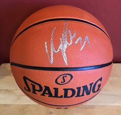 DOMINIQUE WILKINS Signed Basketball NBA Spalding Ball Atlanta Hawks Autograph $49.99