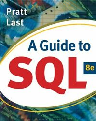 A Guide to SQL Available Titles Skills Assessment Manager SAM Of $6.40