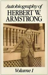 AUTOBIOGRAPHY OF HERBERT W ARMSTRONG VOLUME 1 $9.30