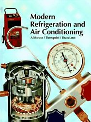 Modern Refrigeration and Air Conditioning $8.11