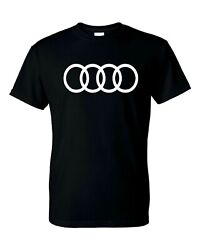 Audi Logo T Shirt Mens and Youth S XL Sizes $13.19