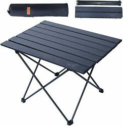 Outdoor Portable Folding Aluminum Table Lightweight Camping Picnic with Bag $22.99