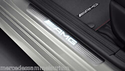 Mercedes Benz AMG Original Door Sill LED Light C 117 Cla Coupe New Boxed