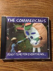 The Commercials First Time For Everything... CD 1998 Rent A Pig Rare Cd Tested