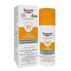 Eucerin Sun Oil Control Dry Touch SPF50 Gel Cream Ultra Light 50ml $23.90