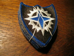 Original WWII US 16th Corps Patches Factory Bundle of 20