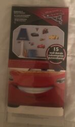Cars 3 Disney RoomMates Vinyl Wall Bedroom 15 Removable Decal Stickers $5.00