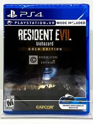 Resident Evil 7 Biohazard Gold Edition PS4 Brand New Factory Sealed $29.99
