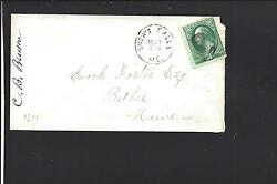 SNOW#x27;S FALLS MAINE COVER BANKNOTE OXFORD CO. 1850 12. $30.00