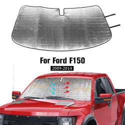 SunShade Windshield Reflective Fabric Block Sun for Ford F150 2009 2014 Foldable $22.04