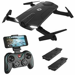 Holy Stone HS160 Shadow FPV RC Drone with 720P HD Wi-Fi Camera Live Video Feed $89.88