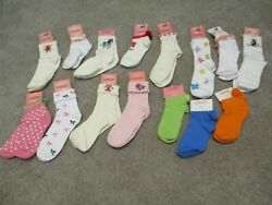 GYMBOREE U PICK GIRLS SOCKS 2 3 6 8 5 7 8 and up NEW WITH TAGS $4.99