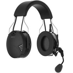 SENA Tufftalk Over-the-Head Earmuff with Long-Range Bluetooth Communication $399.00