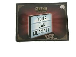 Cinema LED Light Box Letters Numbers & Characters COMPLETE KIT $9.99