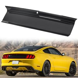 For 2015-2020 Ford Mustang GT Gloss Black Rear Trunk Decklid Panel Trim Cover $68.00