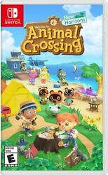 Animal Crossing: New Horizons Standard Edition Nintendo Switch 2020 New $55.99