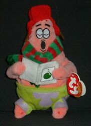 TY SILENT NIGHT STAR BEANIE BABY MINT with TAG SPONGEBOB SEE PICS $3.95