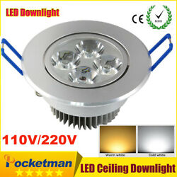9w 12w 15w Recessed LED Ceiling Lamp Downlight Spotlight AC85 265V Home Lighting $4.99