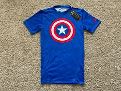 NEW Under Armour Alter Ego Captain America compression shirt $17.99