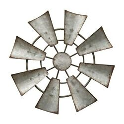 Galvanized windmill handing Ornament 6.5quot; Rustic Country Farm Decor $14.95