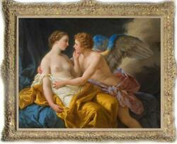 Old Master Art Antique Oil Painting Portrait angle cupid on canvas 30quot;x40quot; $550.00