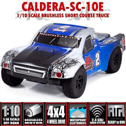 RedCat Racing Caldera SC10E Blue 1/10 Brushless Short Course Truck RTR $229.95