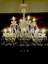 12 Arm Chandelier Powerscourt by WATERFORD CRYSTAL