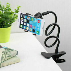 Flexible Long Arms Lazy Bed Stand Clip Holder For Mobile Phone Tablet Desktop $7.97