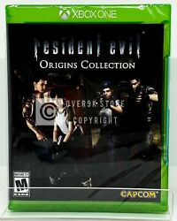 Resident Evil Origins Collection Xbox One Brand New Factory Sealed $21.99
