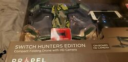 Propel Drone hunters edition compact folding drone with HD camera $64.99