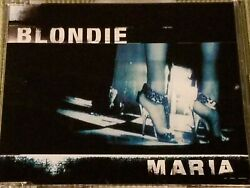 BLONDIE MARIA RARE OOP 3 TRACK IMPORT REMIX CD FREE SHIPPING $12.99