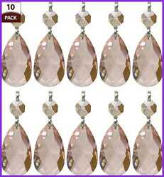 Royal Designs Replacement Chandelier Crystal Prism Pink K9 Quality Tear Drop Alm $43.63