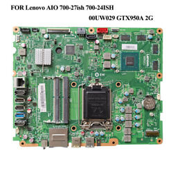 FOR Lenovo AIO 700 27ish 700 24ISH Motherboard Test ok 00UW029 6050A2740501 2G $146.08