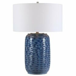 Uttermost Sedna Contemporary Table Lamp in Blue $290.40