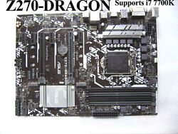 FOR ASUS Z270 DRAGON DDR4 64GB Motherboard Tested OK Supports i7 7700K $142.76