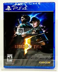 Resident Evil 5 PS4 Brand New Factory Sealed $19.99