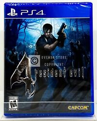 Resident Evil 4 PS4 Brand New Factory Sealed $19.99
